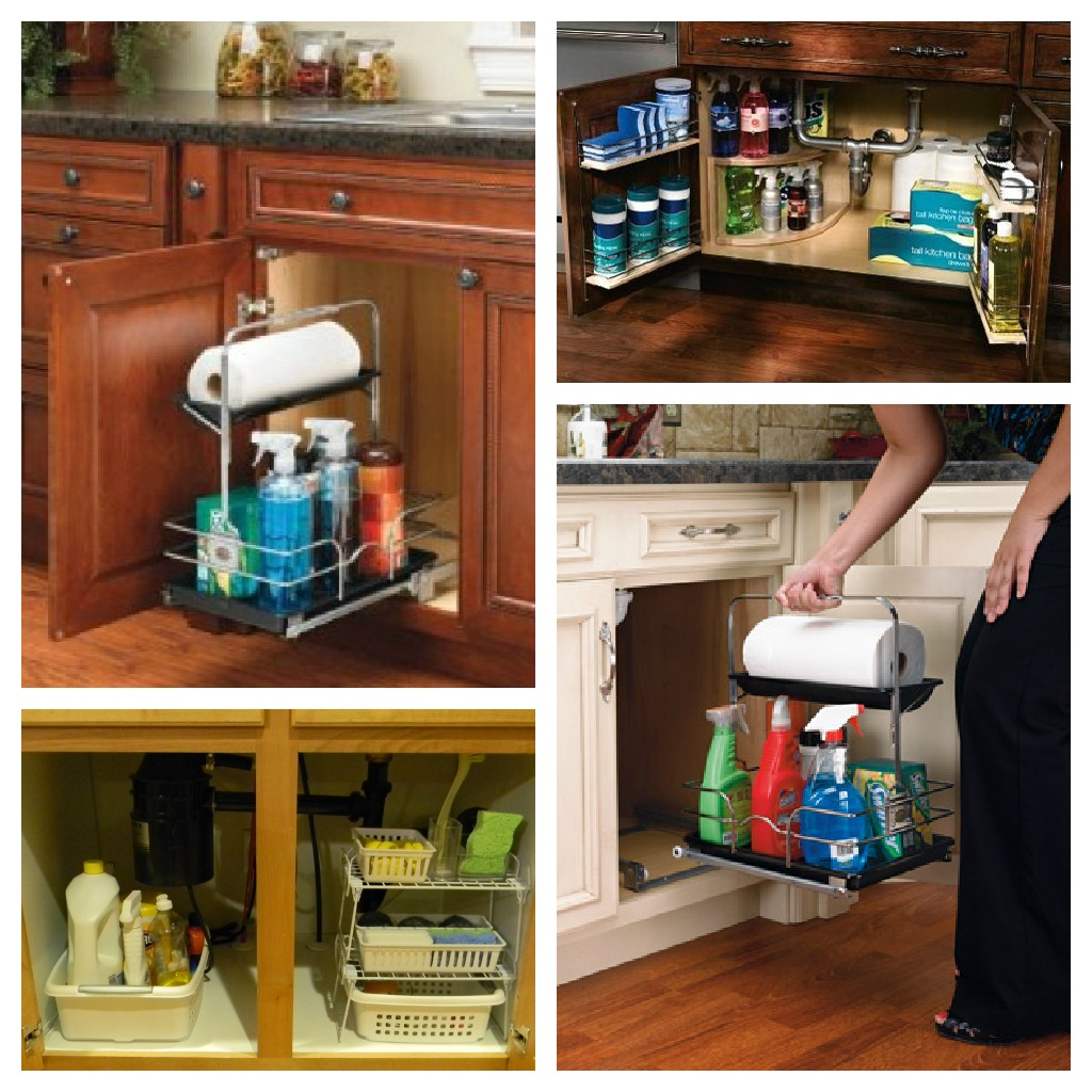 Kitchen Cleaning: How To Store Cleaning Products