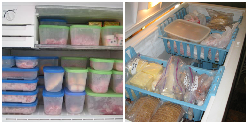 Organizing Frozen Food
