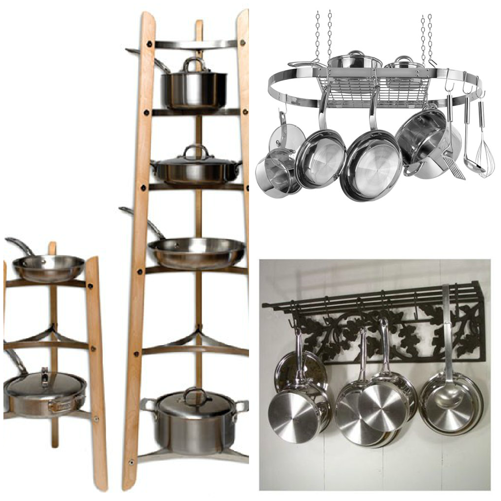 Hanging Pots And Pans From Ceiling
