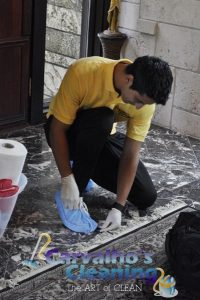 Cleaning of rooms 42