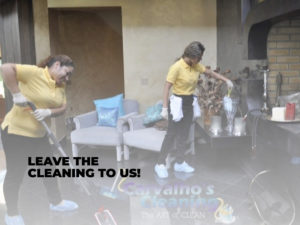 Leave the Cleaning to Us!